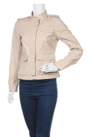 Дамско яке H&M, Размер M, Цвят Бежов, 97% памук, 3% еластан, Цена 11,03лв.