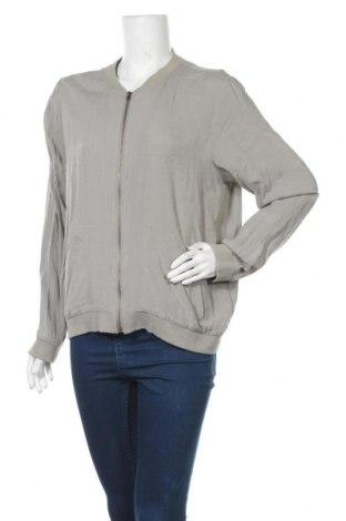 Γυναικείο μπουφάν Soya Concept, Μέγεθος L, Χρώμα Γκρί, 95% βαμβάκι, 5% ελαστάνη, Τιμή 16,66€
