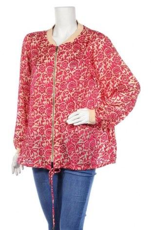 Γυναικείο μπουφάν Zizzi, Μέγεθος XL, Χρώμα  Μπέζ, Πολυεστέρας, Τιμή 19,32€
