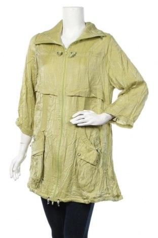 Γυναικείο μπουφάν Zizzi, Μέγεθος XL, Χρώμα Πράσινο, 70% βισκόζη, 30% πολυαμίδη, Τιμή 22,41€