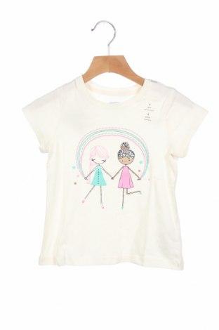 Παιδική μπλούζα Gap Baby, Μέγεθος 3-4y/ 104-110 εκ., Χρώμα Εκρού, Βαμβάκι, Τιμή 14,85€