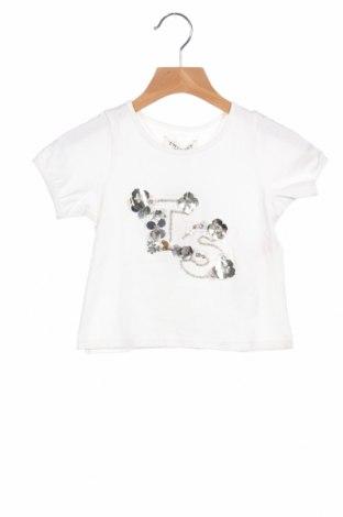 Παιδική μπλούζα TWINSET, Μέγεθος 18-24m/ 86-98 εκ., Χρώμα Λευκό, 95% βαμβάκι, 5% ελαστάνη, Τιμή 19,56€