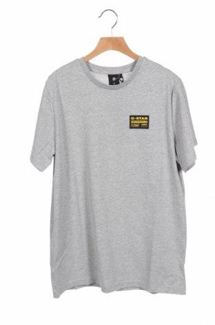 Παιδικό μπλουζάκι G-Star Raw, Μέγεθος 15-18y/ 170-176 εκ., Χρώμα Γκρί, 54% πολυεστέρας, 46% βαμβάκι, Τιμή 22,81€