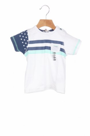 Παιδικό μπλουζάκι Grain De Ble, Μέγεθος 6-9m/ 68-74 εκ., Χρώμα Λευκό, Βαμβάκι, Τιμή 6,20€