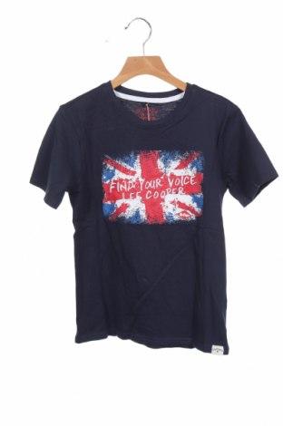 Παιδικό μπλουζάκι Lee Cooper, Μέγεθος 8-9y/ 134-140 εκ., Χρώμα Μπλέ, Βαμβάκι, Τιμή 7,09€