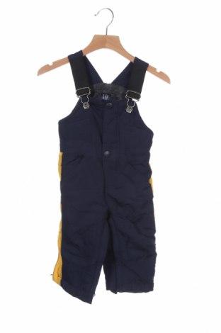 Παιδική σαλοπέτα για χειμερινά σπορ Gap Baby, Μέγεθος 12-18m/ 80-86 εκ., Χρώμα Μπλέ, Πολυεστέρας, Τιμή 18,77€