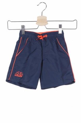 Παιδικό κοντό παντελόνι Sundek, Μέγεθος 18-24m/ 86-98 εκ., Χρώμα Μπλέ, Πολυεστέρας, Τιμή 8,23€