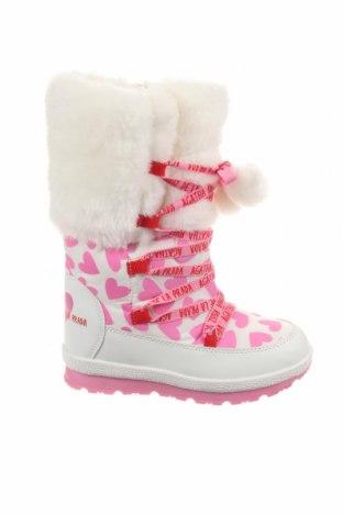 Παιδικά παπούτσια Agatha Ruiz De La Prada, Μέγεθος 33, Χρώμα Λευκό, Δερματίνη, κλωστοϋφαντουργικά προϊόντα, Τιμή 29,78€