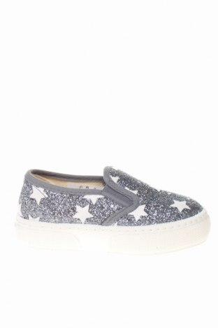 Детски обувки Bata, Размер 25, Цвят Сребрист, Текстил, Цена 31,85лв.