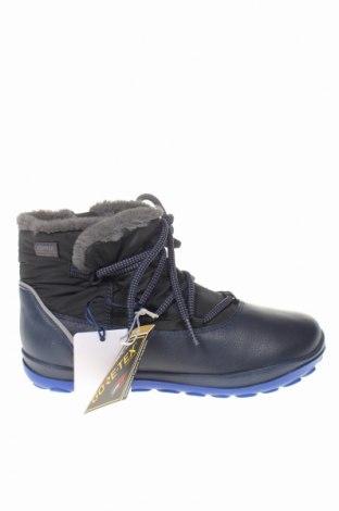Παιδικά παπούτσια Camper, Μέγεθος 33, Χρώμα Μπλέ, Γνήσιο δέρμα, κλωστοϋφαντουργικά προϊόντα, Τιμή 48,38€