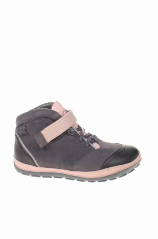 Παιδικά παπούτσια Camper, Μέγεθος 33, Χρώμα Γκρί, Φυσικό σουέτ, Τιμή 38,64€