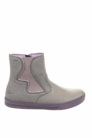 Παιδικά παπούτσια Ciao, Μέγεθος 35, Χρώμα Γκρί, Γνήσιο δέρμα, κλωστοϋφαντουργικά προϊόντα, Τιμή 25,23€