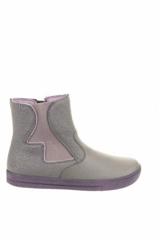 Παιδικά παπούτσια Ciao, Μέγεθος 36, Χρώμα Γκρί, Γνήσιο δέρμα, κλωστοϋφαντουργικά προϊόντα, Τιμή 25,23€