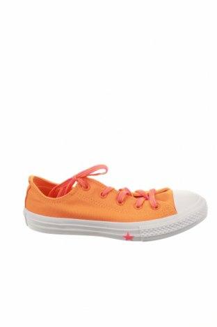 Παιδικά παπούτσια Converse All Star, Μέγεθος 34, Χρώμα Πορτοκαλί, Κλωστοϋφαντουργικά προϊόντα, Τιμή 26,61€
