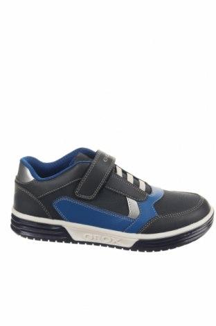 Παιδικά παπούτσια Geox, Μέγεθος 37, Χρώμα Γκρί, Δερματίνη, Τιμή 38,64€