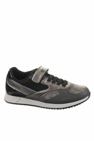 Детски обувки Geox, Размер 35, Цвят Сив, Еко кожа, Цена 65,45лв.