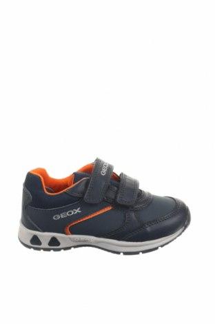 Παιδικά παπούτσια Geox, Μέγεθος 24, Χρώμα Μπλέ, Δερματίνη, Τιμή 35,58€