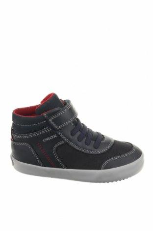 Παιδικά παπούτσια Geox, Μέγεθος 26, Χρώμα Μπλέ, Δερματίνη, Τιμή 38,64€