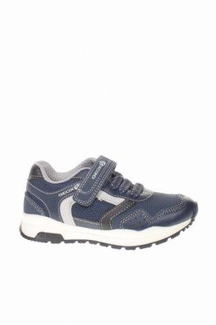 Παιδικά παπούτσια Geox, Μέγεθος 27, Χρώμα Μπλέ, Δερματίνη, Τιμή 46,01€