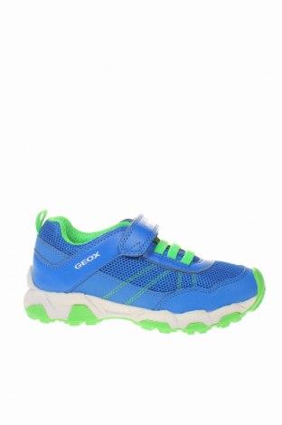 Детски обувки Geox, Размер 31, Цвят Син, Еко кожа, Цена 69,02лв.