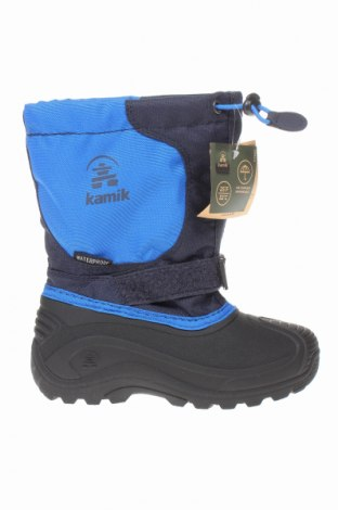 Παιδικά παπούτσια Kamik, Μέγεθος 31, Χρώμα Μπλέ, Κλωστοϋφαντουργικά προϊόντα, πολυουρεθάνης, Τιμή 34,41€
