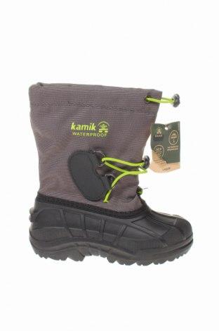 Παιδικά παπούτσια Kamik, Μέγεθος 28, Χρώμα Γκρί, Κλωστοϋφαντουργικά προϊόντα, πολυουρεθάνης, Τιμή 31,70€