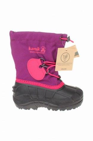 Παιδικά παπούτσια Kamik, Μέγεθος 26, Χρώμα Ρόζ , Κλωστοϋφαντουργικά προϊόντα, πολυουρεθάνης, Τιμή 37,11€