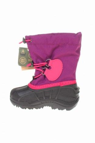 Παιδικά παπούτσια Kamik, Μέγεθος 26, Χρώμα Ρόζ , Κλωστοϋφαντουργικά προϊόντα, πολυουρεθάνης, Τιμή 29,69€