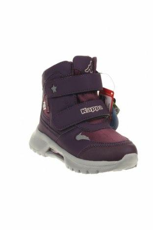 Παιδικά παπούτσια Kappa, Μέγεθος 28, Χρώμα Βιολετί, Δερματίνη, κλωστοϋφαντουργικά προϊόντα, Τιμή 29,87€