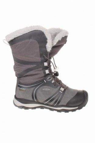 Παιδικά παπούτσια Keen, Μέγεθος 34, Χρώμα Γκρί, Κλωστοϋφαντουργικά προϊόντα, δερματίνη, Τιμή 34,41€