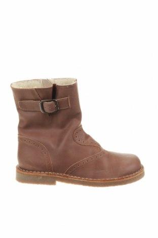 Παιδικά παπούτσια Kmins, Μέγεθος 31, Χρώμα Καφέ, Γνήσιο δέρμα, Τιμή 28,10€