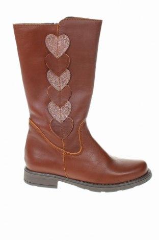 Παιδικά παπούτσια Kmins, Μέγεθος 31, Χρώμα Καφέ, Γνήσιο δέρμα, Τιμή 38,64€