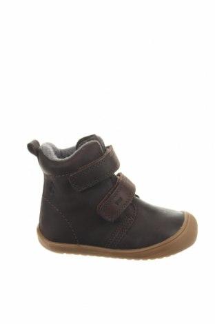 Παιδικά παπούτσια Lamino, Μέγεθος 22, Χρώμα Καφέ, Γνήσιο δέρμα, Τιμή 30,54€