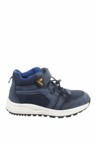 Детски обувки Lamino, Размер 30, Цвят Син, Текстил, еко кожа, Цена 49,77лв.