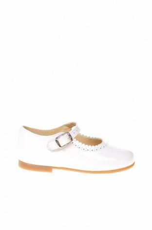 Παιδικά παπούτσια Lola Palacios, Μέγεθος 25, Χρώμα Λευκό, Γνήσιο δέρμα, Τιμή 18,85€