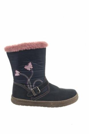 Παιδικά παπούτσια Lurchi, Μέγεθος 35, Χρώμα Μπλέ, Φυσικό σουέτ, κλωστοϋφαντουργικά προϊόντα, Τιμή 37,97€