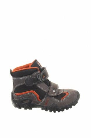 Παιδικά παπούτσια Lurchi, Μέγεθος 28, Χρώμα Γκρί, Φυσικό σουέτ, κλωστοϋφαντουργικά προϊόντα, δερματίνη, Τιμή 28,90€