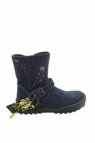 Детски обувки Lurchi, Размер 26, Цвят Син, Естествен велур, Цена 57,42лв.