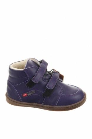 Παιδικά παπούτσια Melton, Μέγεθος 26, Χρώμα Βιολετί, Γνήσιο δέρμα, Τιμή 29,69€