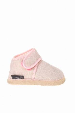 Παιδικά παπούτσια Nanga, Μέγεθος 18, Χρώμα  Μπέζ, Κλωστοϋφαντουργικά προϊόντα, Τιμή 9,07€