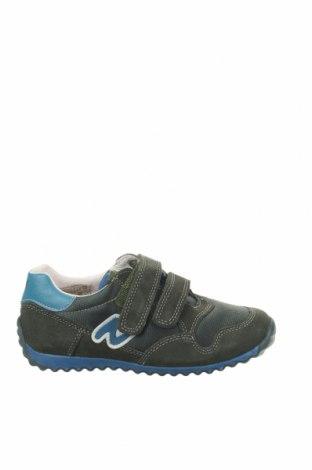 Παιδικά παπούτσια Naturino, Μέγεθος 29, Χρώμα Πράσινο, Φυσικό σουέτ, κλωστοϋφαντουργικά προϊόντα, Τιμή 30,67€