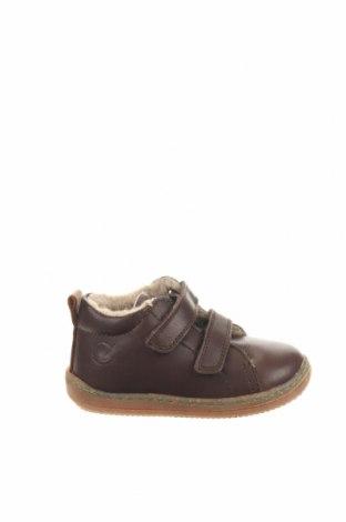 Παιδικά παπούτσια Naturino, Μέγεθος 21, Χρώμα Καφέ, Γνήσιο δέρμα, Τιμή 38,64€