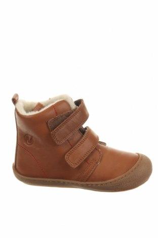 Παιδικά παπούτσια Naturino, Μέγεθος 25, Χρώμα Καφέ, Γνήσιο δέρμα, Τιμή 57,60€
