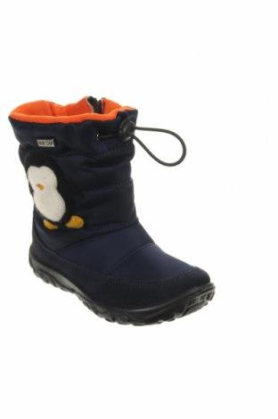 Παιδικά παπούτσια Naturino, Μέγεθος 25, Χρώμα Μπλέ, Φυσικό σουέτ, κλωστοϋφαντουργικά προϊόντα, Τιμή 48,38€