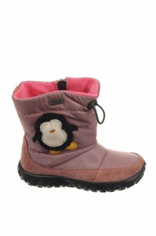 Παιδικά παπούτσια Naturino, Μέγεθος 26, Χρώμα Ρόζ , Φυσικό σουέτ, κλωστοϋφαντουργικά προϊόντα, Τιμή 48,38€
