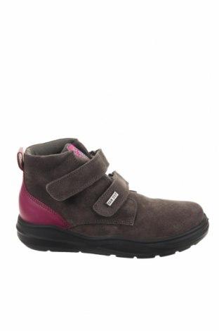 Παιδικά παπούτσια Naturino, Μέγεθος 32, Χρώμα Γκρί, Φυσικό σουέτ, γνήσιο δέρμα, Τιμή 39,17€