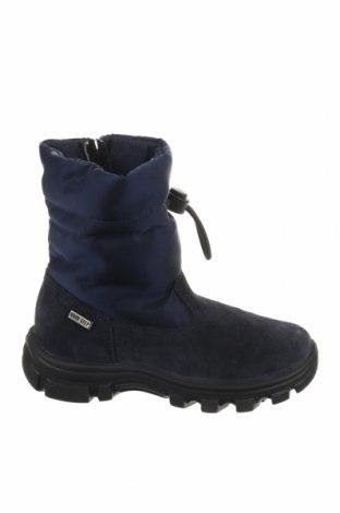 Παιδικά παπούτσια Naturino, Μέγεθος 29, Χρώμα Μπλέ, Φυσικό σουέτ, κλωστοϋφαντουργικά προϊόντα, Τιμή 25,34€