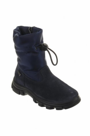 Παιδικά παπούτσια Naturino, Μέγεθος 29, Χρώμα Μπλέ, Φυσικό σουέτ, κλωστοϋφαντουργικά προϊόντα, Τιμή 44,54€