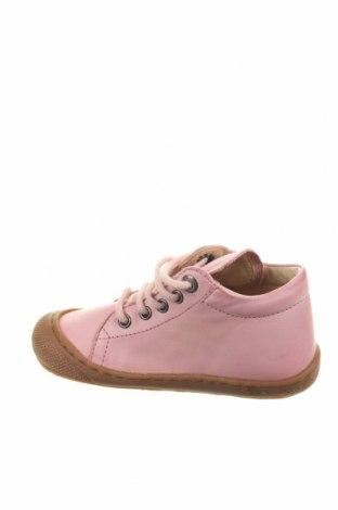 Παιδικά παπούτσια Naturino, Μέγεθος 23, Χρώμα Ρόζ , Γνήσιο δέρμα, Τιμή 36,80€