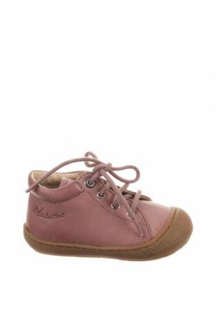 Παιδικά παπούτσια Naturino, Μέγεθος 21, Χρώμα Ρόζ , Γνήσιο δέρμα, Τιμή 35,58€